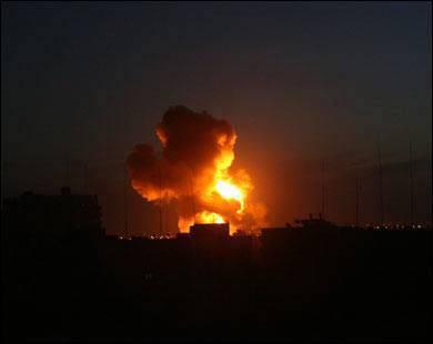 Israel bombardea Gaza, domingo 6 de julio, 2014