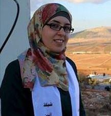 Boshra Tawil, de Aneen Red Al-Qaid Media secuestrada de su propia casa.