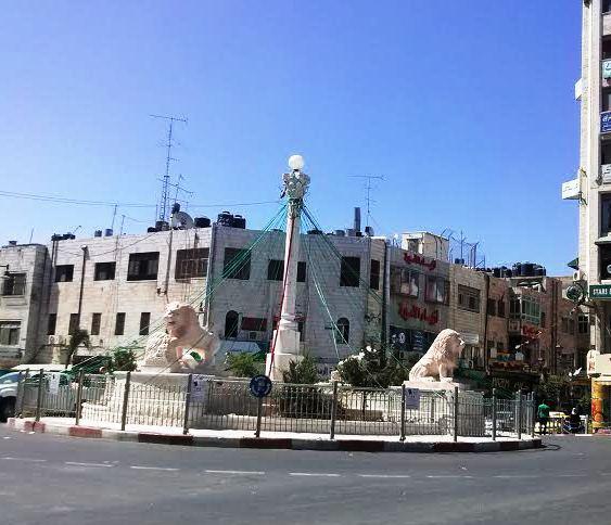 Plaza Manara, Ramala. Foto: Tali Feld Gleiser.