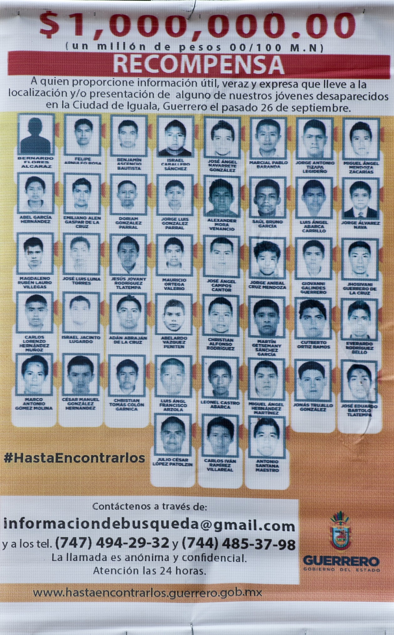 MEXICO-CRIME-STUDENTS-MISSING