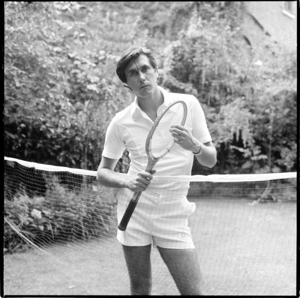 Brian Ferry of Roxy music at his home in London 1976