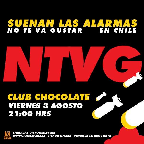 Afiche NTVG EN CHILE
